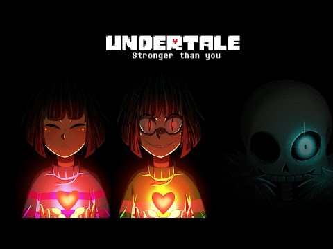 Xxx Mp4 Undertale Stronger Than You Frisk Chara Sans Trio Lyric Video 3gp Sex