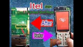 Itel it5231 Full Short and Dead Sulotion by gsm unlock pro