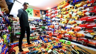 NERF GUN ARSENAL WITH OVER 300+ BLASTERS!