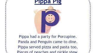 Alphafriends: Pippa Pig
