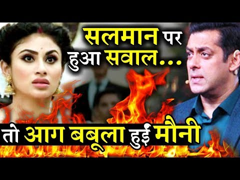 Xxx Mp4 Mouni Roy Gets Angry When Asked About Salman Khan's Role In Launching Her 3gp Sex