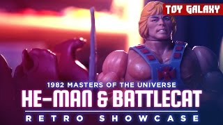 1982 Masters of the Universe He-Man and Battlecat - Retro Showcase #2