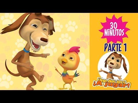 Enganchados Capítulos ¡Uno dos tres a jugar Parte1 Con el perro Chocolo