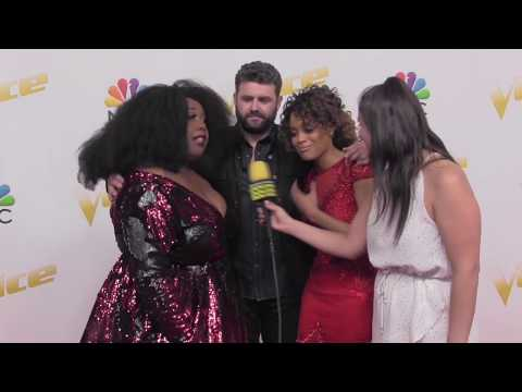 TEAM BLAKE Talks About Being A Team From the Beginning | The VOICE Red Carpet