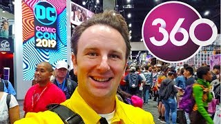 San Diego Comic Con 2019 Exhibit Hall Tour In 360° Video