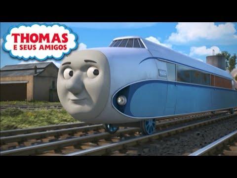 Thomas Vê Hugo Voando no Céu Locomotivas Extrordinárias Thomas e Seus Amigos
