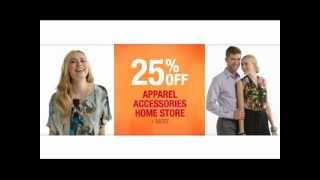Bon-Ton Friends and Family Event 2012