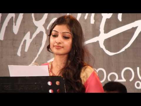 Singer Sreenivas's daughter Sharaya Singing Evergreen