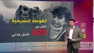 بي_بي_سي_ترندينغ | فيديوهات وصور لقصف #الغوطة_الشرقية في #سوريا