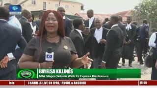 Lawyers In Bayelsa Protest, Condemn Killing Of Colleague