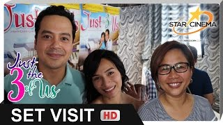 [FULL] 'Just The 3 Of Us' Set Visit | John Lloyd Cruz, Jennylyn Mercado, Direk Cathy Garcia-Molina