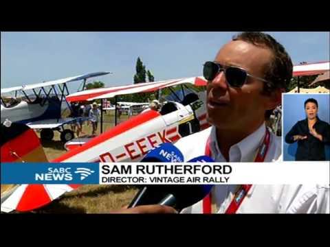 Crete2Cape Vintage Air Rally ends in fanfare in Stellenbosch