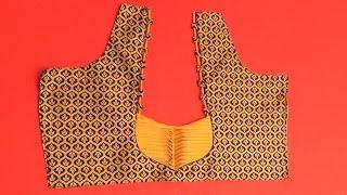 Back Fashion Blouse 2  marathi