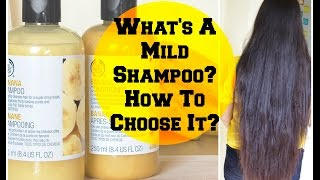 What's a MILD Shampoo, How to choose Sulfate-free Shampoos?   Sushmita's Diaries