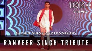 Tribute to Ranveer Singh | Dhoom 2018 | Parul University | Solo Dance | Winner | Sachin Singh