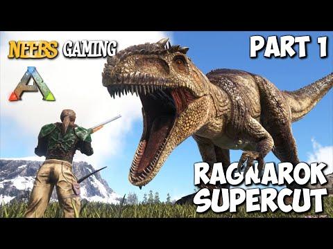 ARK Survival Evolved Ragnarok Supercut Part 1