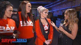 Raw women unfazed by crowd reaction, team distractions: WWE Exclusive, Nov. 18, 2018