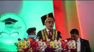 1st Convocation, Jatiya Kabi kazi Nazrul Islam university,