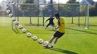 ULTIMATE PENALTY SHOOTOUT w/ Nuri Sahin (Borussia Dortmund)