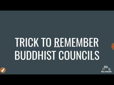 Trick to Remember Buddhist Councils | Buddhism | Ancient History | UPSC | SSC