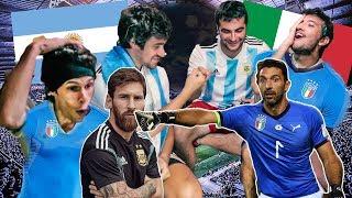 ARGENTINA vs ITALIA | Amistoso Internacional | PES 2018