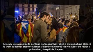 TODAY  NEWS:CATALONIA POLICE DON