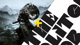 The Elder Scrolls V | Skyrim Trailer & Seven Nation Army ( The Glitch Mob Remix )