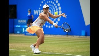 2017 Aegon Classic Quarterfinals | Ashleigh Barty vs Camila Giorgi | WTA Highlights
