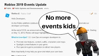 Roblox is removing events...