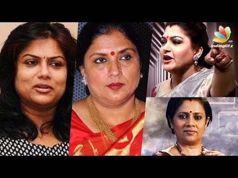 Kushboo behaves lika a rowdy on reality show says Actress Ranjini, Sri Priya   Hot Tamil Cinema News