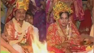 Transgender ties knot with Odisha man