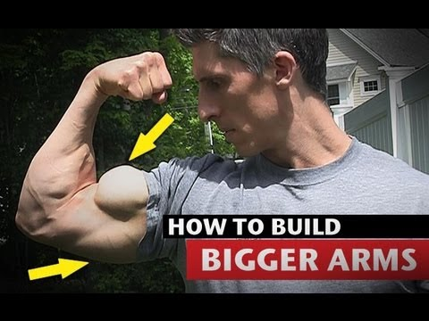 How to Get Big Arms MUCH FASTER Triceps and Biceps