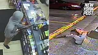 7-11 robber killed by officer who randomly showed up on the scene | New York Post