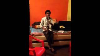 Gulabi Aankhen saxophone Raju Kulpare