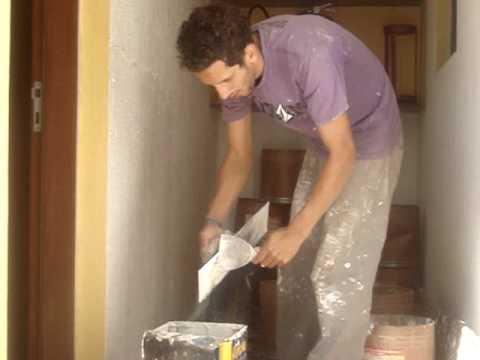 aplicando textura na parede
