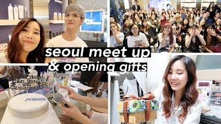Troiareuke Event in Seoul, KCON NY Info, & Opening Gifts!!
