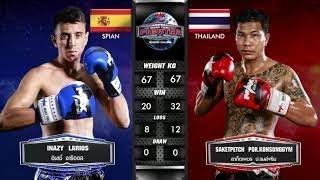 (KO R1) Ignasi 7MuayThaiGym vs Saketpetch - Max Muay Thai Stadium