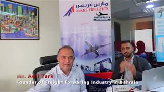 MESSAGE CEO- MARS FREIGHTS - MR ADIL TURK