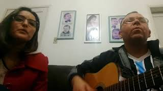 Mrs Robinson (Simon and Garfunkel) cover by  Diogo Bonatto & Priscila Machado