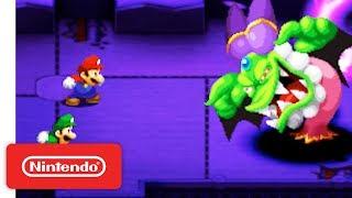 Mario & Luigi: Superstar Saga + Bowser's Minions Brothers Trailer - Nintendo 3DS