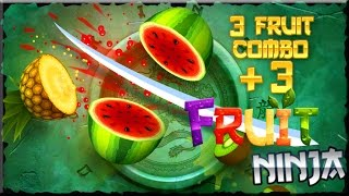 Fruit Ninja Free (Android & iOS) Gameplay HD