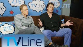 Nathan Fillion on Castle's End   TVLine Studio Presented by ZTE   Comic-Con 2016