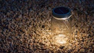 Consol Solar Jar - Solar Powered LED Light