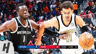 Detroit Pistons vs Atlanta Hawks - Full Highlights | February 22, 2019 | 2018-19 NBA Season