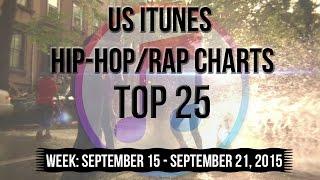 Top 25 - US iTunes Hip-Hop/Rap Charts   September 21, 2015