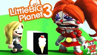 GETTING SCOOPED BY BABY | Little Big Planet 3 (FNAF Sister Location)