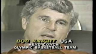ABC featured then Indiana Hoosiers' coach Bobby Knight with the late Dick Schaap