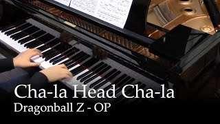 Cha-la Head Cha-la - Dragon Ball Z OP [piano]