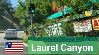 Los Angeles Driving Tour:   Laurel Canyon