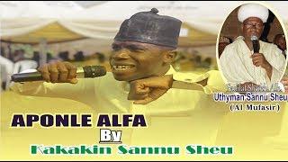 SANNU SHEU SON KAKAKIN /APONLE ALFA  IS AN INSTRENTING MOVIC